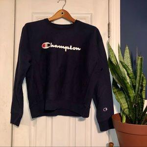 NWT Navy Champion Crewneck Sweatshirt